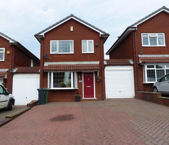 3 Bedrooms Link Detached House for sale in Lindon View,Brownhills,Walsall