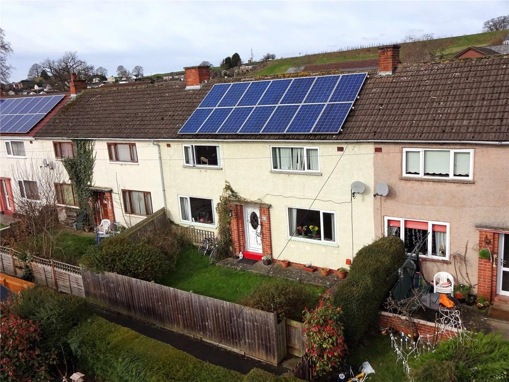 3 Bedrooms Terraced House for sale in Borfa Green, Welshpool, Powys