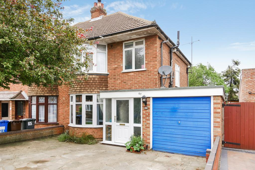 3 Bedrooms Semi Detached House for sale in Rosecroft Road, Ipswich