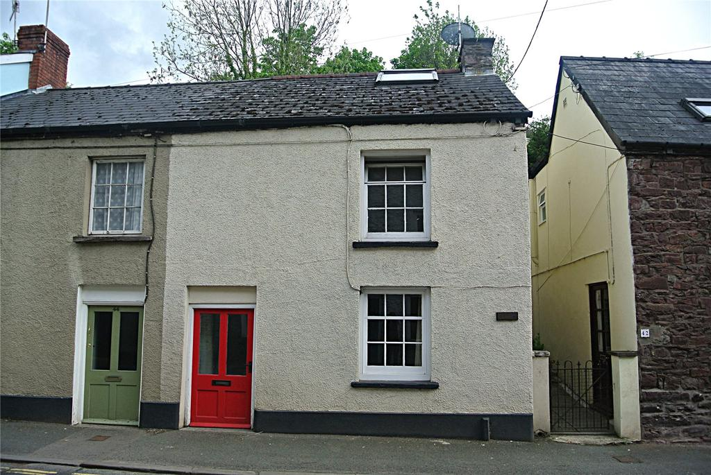 2 Bedrooms End Of Terrace House for sale in The Struet, Brecon, Powys