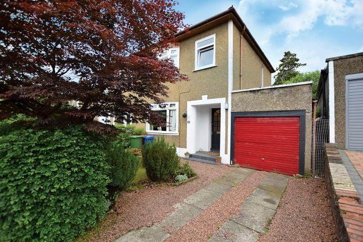 3 Bedrooms Semi Detached House for sale in 85 Hillfoot Drive, Bearsden, G61 3QG