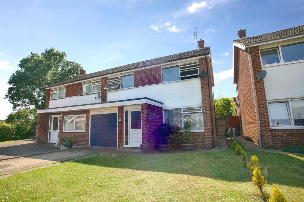 3 Bedrooms Semi Detached House for sale in Cedar Avenue, Kesgrave, Ipswich