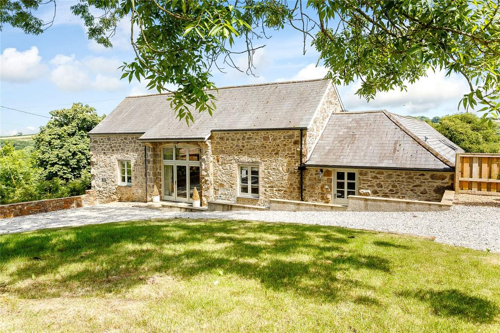 4 Bedrooms Barn Conversion Character Property for sale in Spreyton, Crediton, Devon