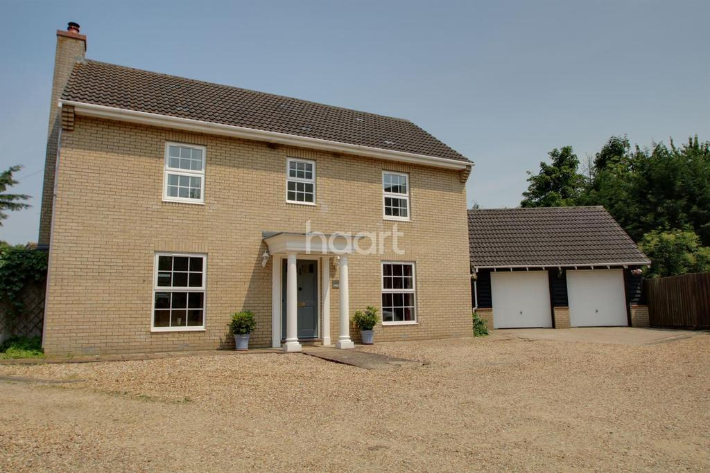 4 Bedrooms Detached House for sale in Holt Fen, Little Thetford