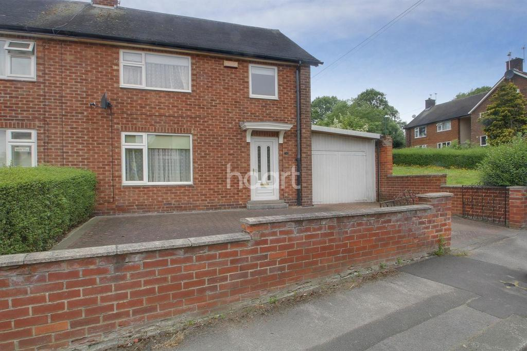 3 Bedrooms Semi Detached House for sale in Pedmore Valley, Bestwood Park, Nottingham