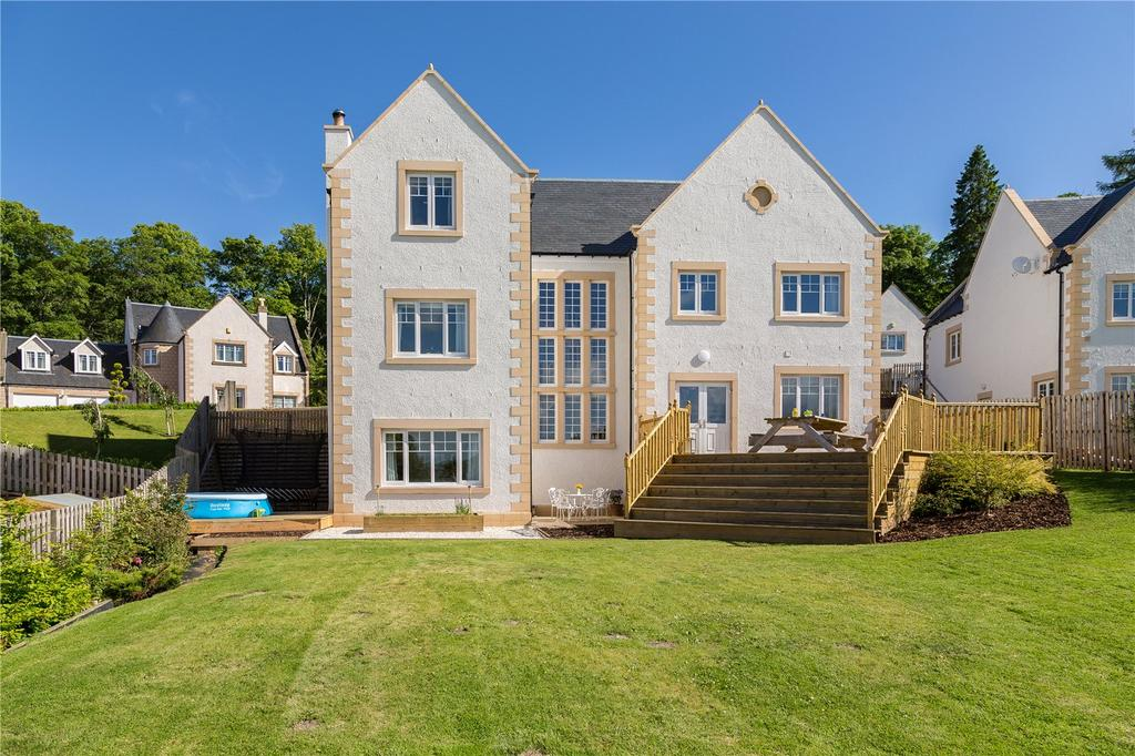 4 Bedrooms Detached House for sale in Harleyburn Court, Melrose, Scottish Borders