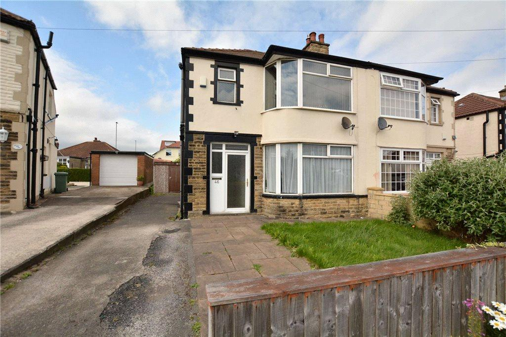 3 Bedrooms Semi Detached House for sale in Ederoyd Crescent, Pudsey, West Yorkshire