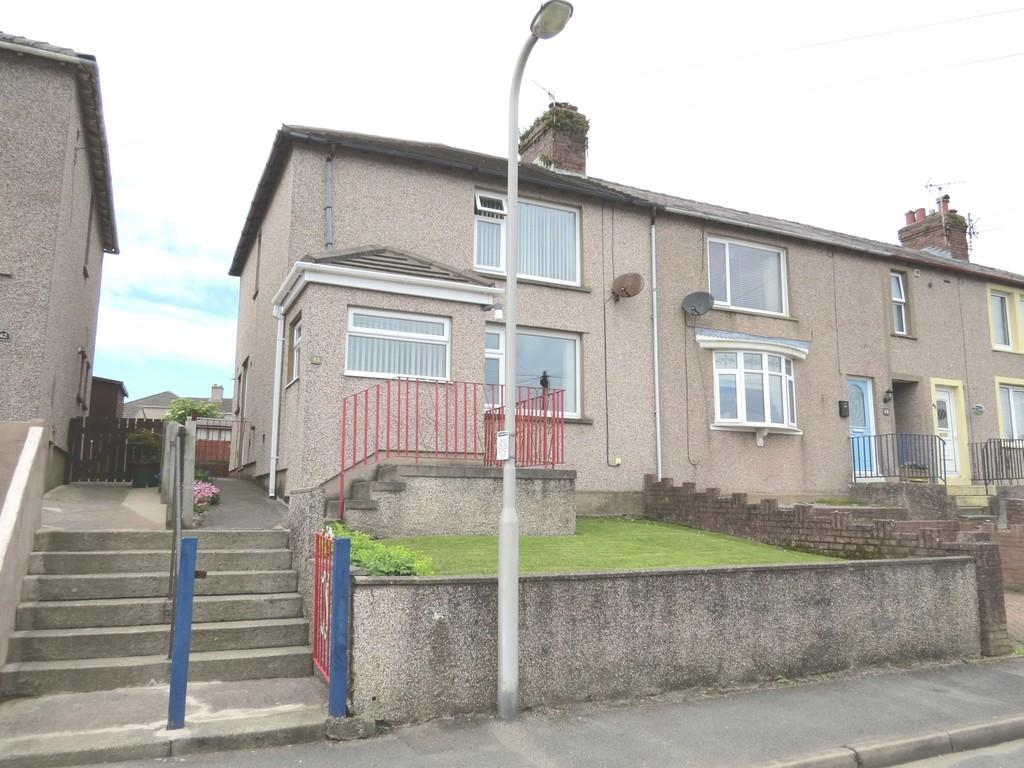 3 Bedrooms End Of Terrace House for sale in Hill Top Road, Whitehaven, Cumbria