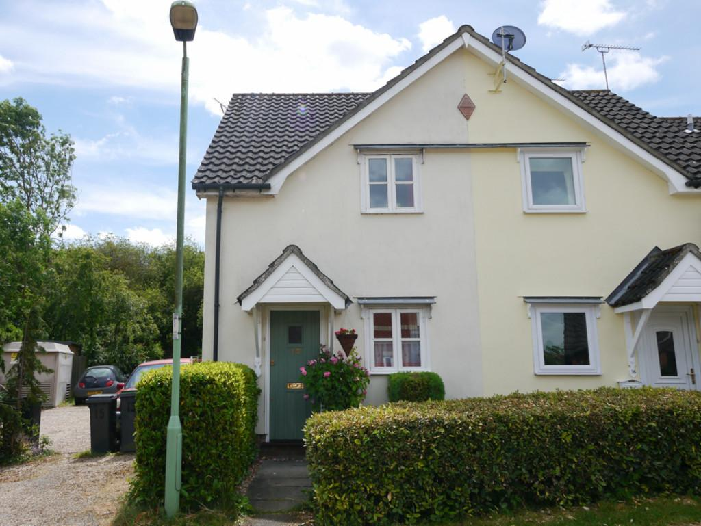 2 Bedrooms Semi Detached House for sale in Deben Rise, Debenham, Suffolk