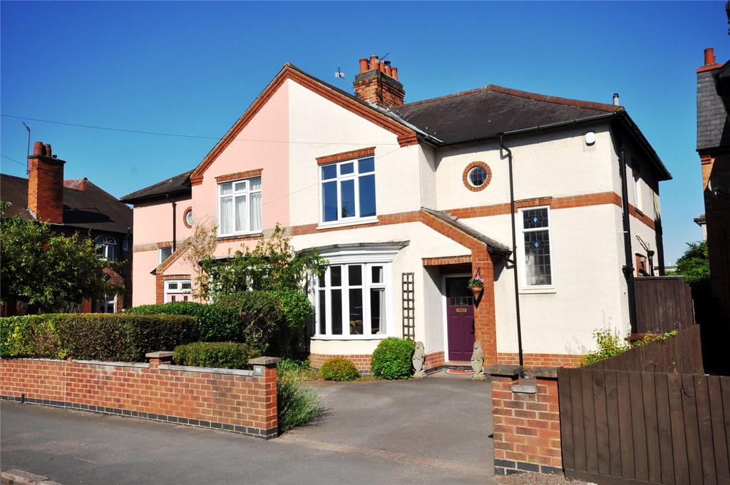 3 Bedrooms Semi Detached House for sale in Beacon Road, Loughborough, Leicestershire
