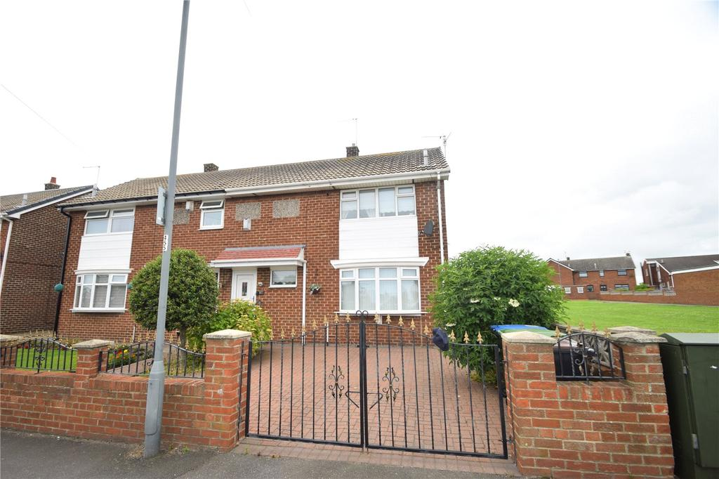 2 Bedrooms Semi Detached House for sale in Burnhall Drive, Northlea, Seaham, Co. Durham, SR7