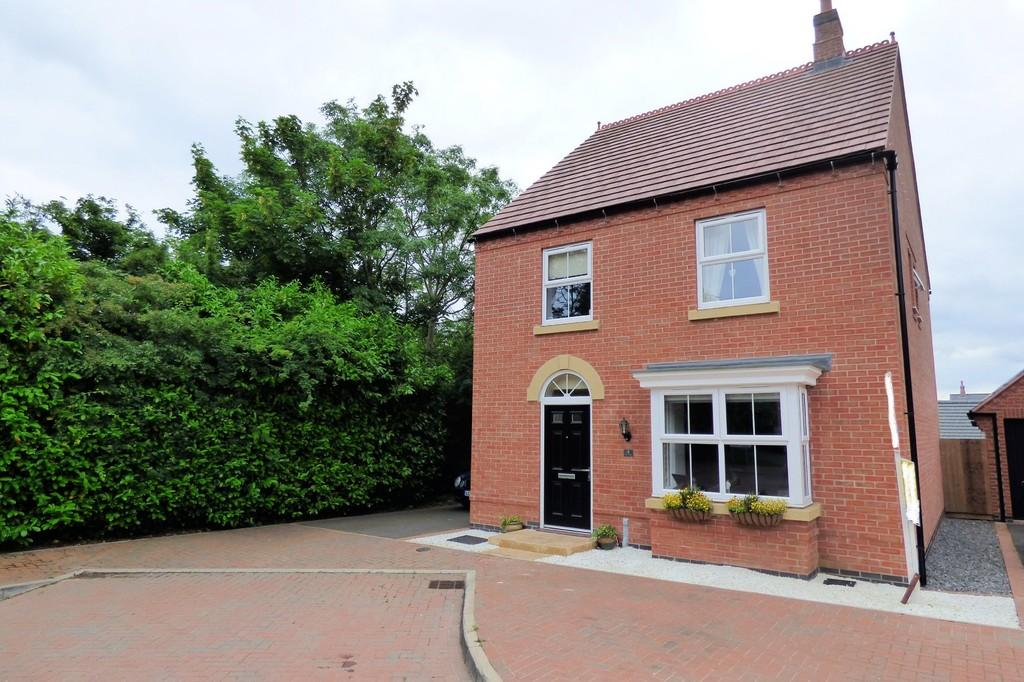 4 Bedrooms Detached House for sale in Tilly Mews, Measham