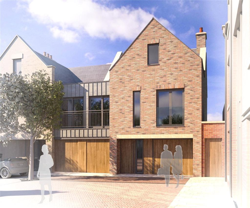 4 Bedrooms End Of Terrace House for sale in The Wellington, 8 The Orchard, Richmond, North Yorkshire, DL10