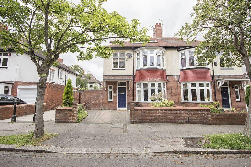 4 Bedrooms Semi Detached House for sale in Oaklands, Gosforth