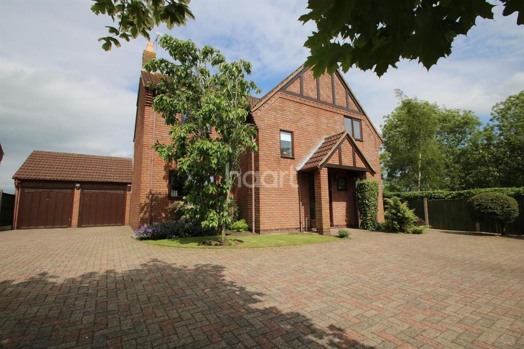 4 Bedrooms Detached House for sale in Thorneycroft Close, Broughton Astley, Leicester