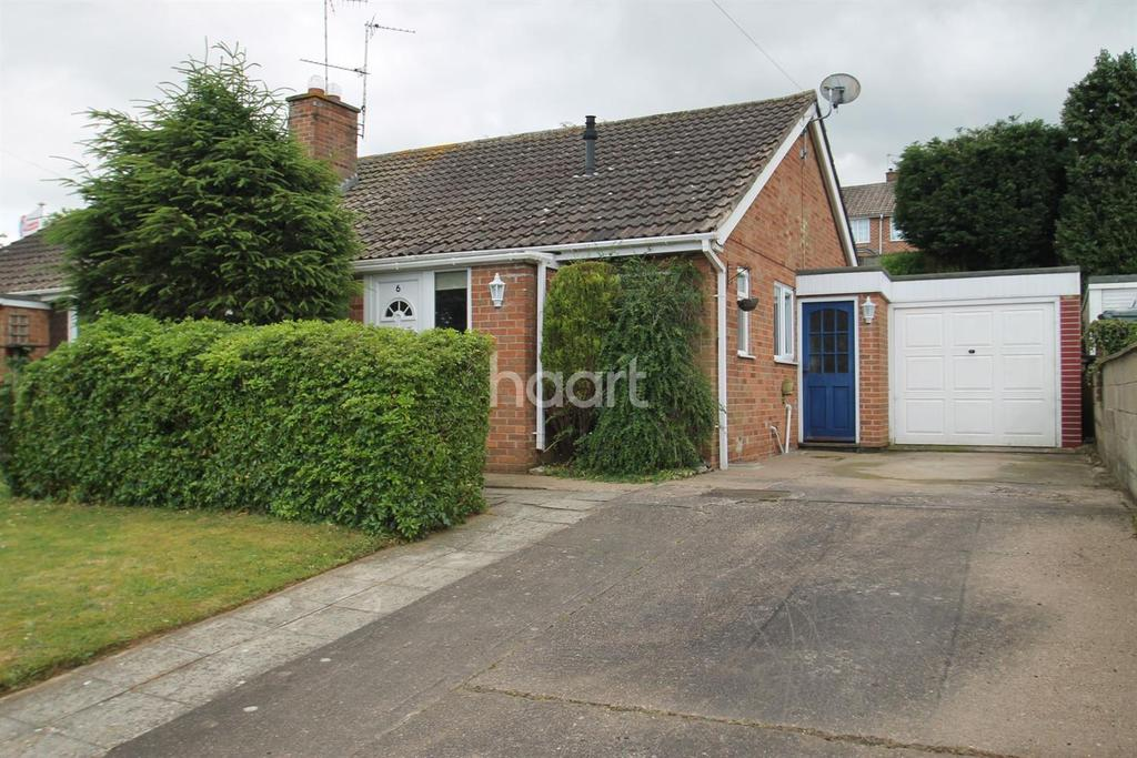 2 Bedrooms Bungalow for sale in Wroxall Drive, Grantham