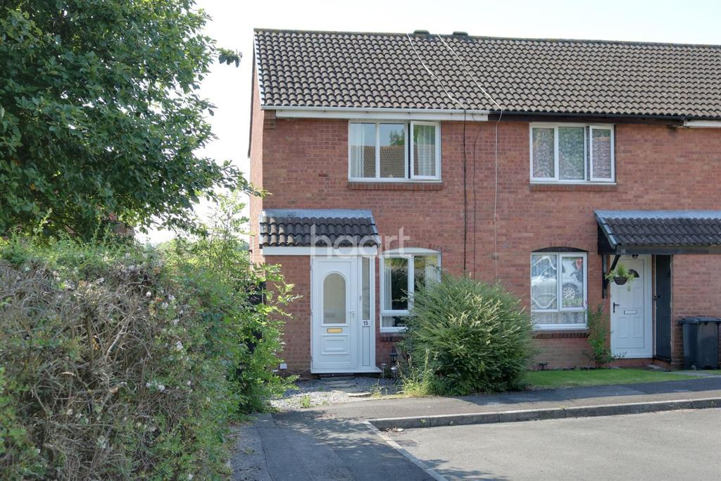 2 Bedrooms End Of Terrace House for sale in Longstock Court, Swindon, Wiltshire