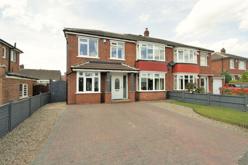4 Bedrooms Semi Detached House for sale in Green Vale Grove, Fairfield, Stockton, TS19 7QZ