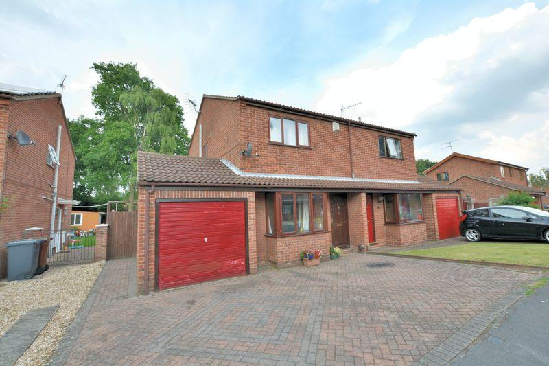 3 Bedrooms Semi Detached House for sale in Teesdale Close, Lincoln