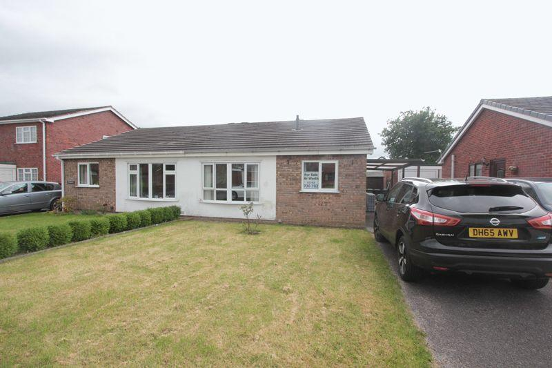 2 Bedrooms Detached Bungalow for sale in Crud Y Castell, Denbigh