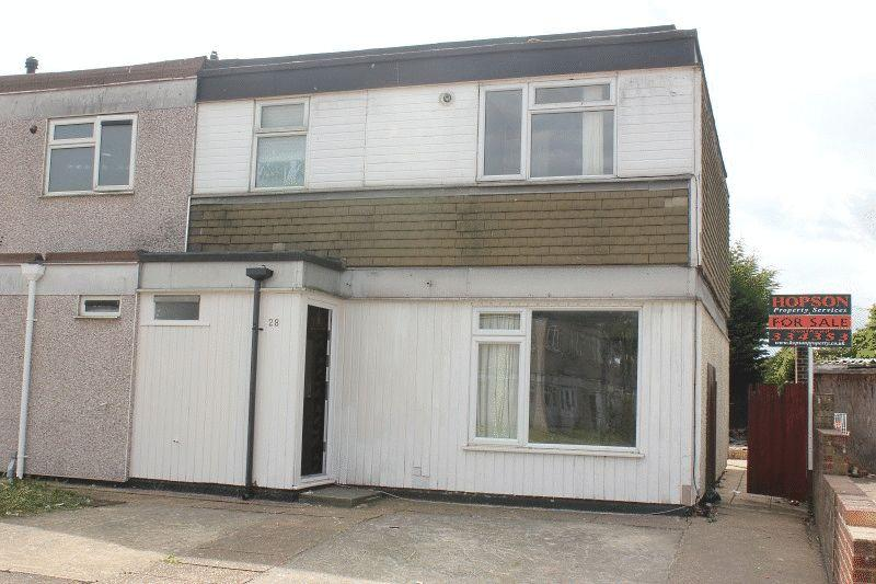 3 Bedrooms End Of Terrace House for sale in Jones Close, Southend-on-Sea