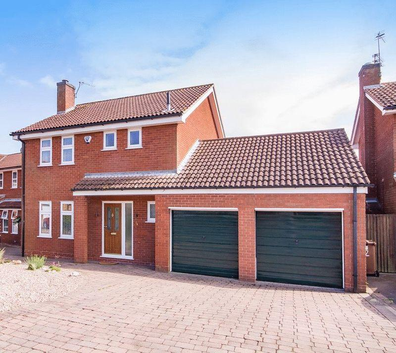 4 Bedrooms Detached House for sale in FORDWELLS CLOSE, LITTLEOVER
