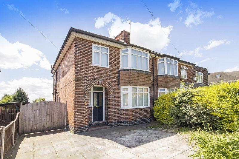 3 Bedrooms Semi Detached House for sale in BREEDON AVENUE, LITTLEOVER