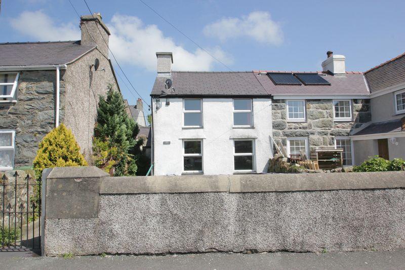 3 Bedrooms Semi Detached House for sale in Bethel, Gwynedd