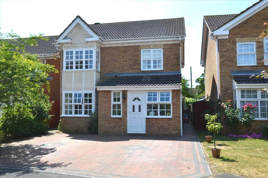 3 Bedrooms Detached House for sale in Jasmine Close, Biggleswade, SG18