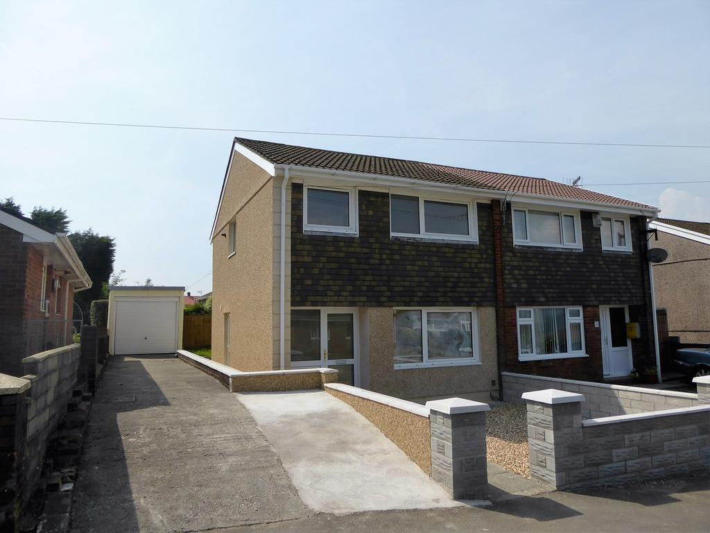 3 Bedrooms Semi Detached House for sale in Arwelfa, Morriston, Swansea, SA6