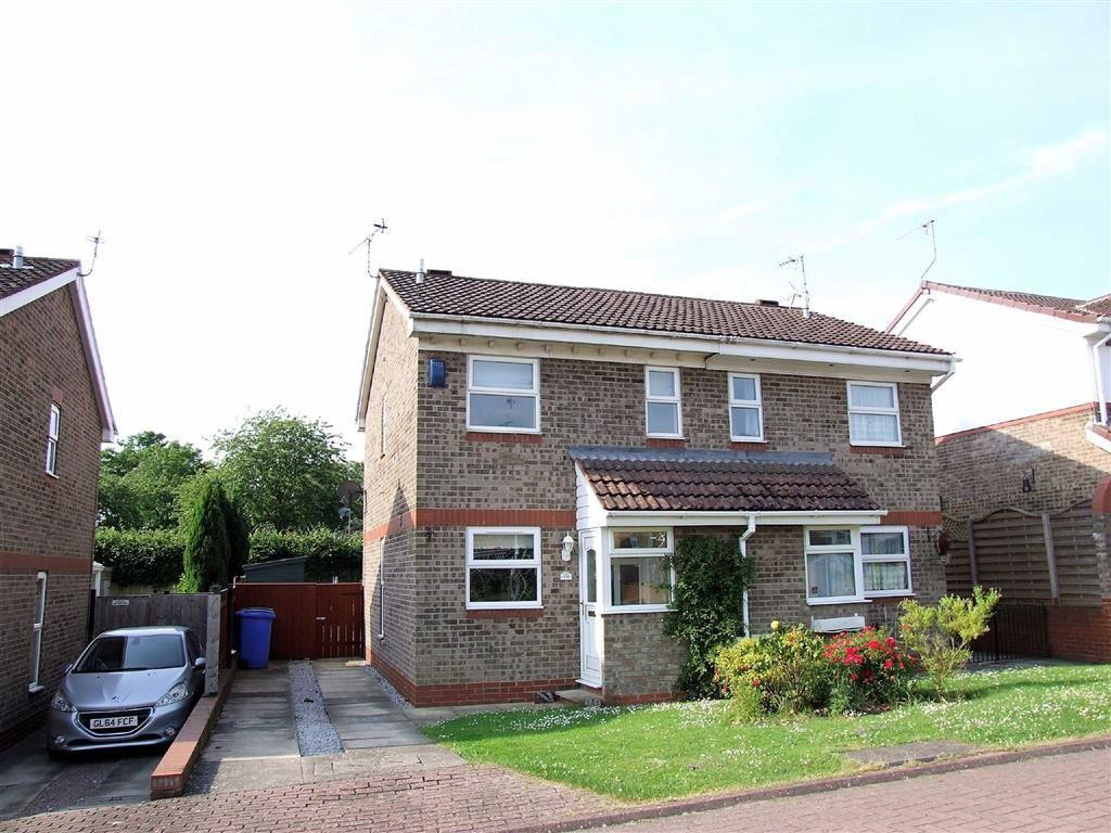 2 Bedrooms Semi Detached House for sale in Thornton Close, Elsham Rise, Hessle, East Yorkshire, HU13