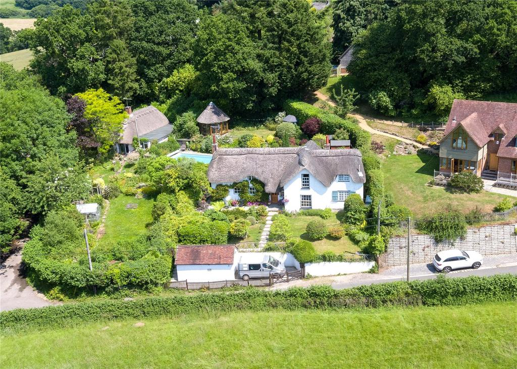 3 Bedrooms House for sale in Frogham Hill, Frogham, Fordingbridge, Hampshire, SP6