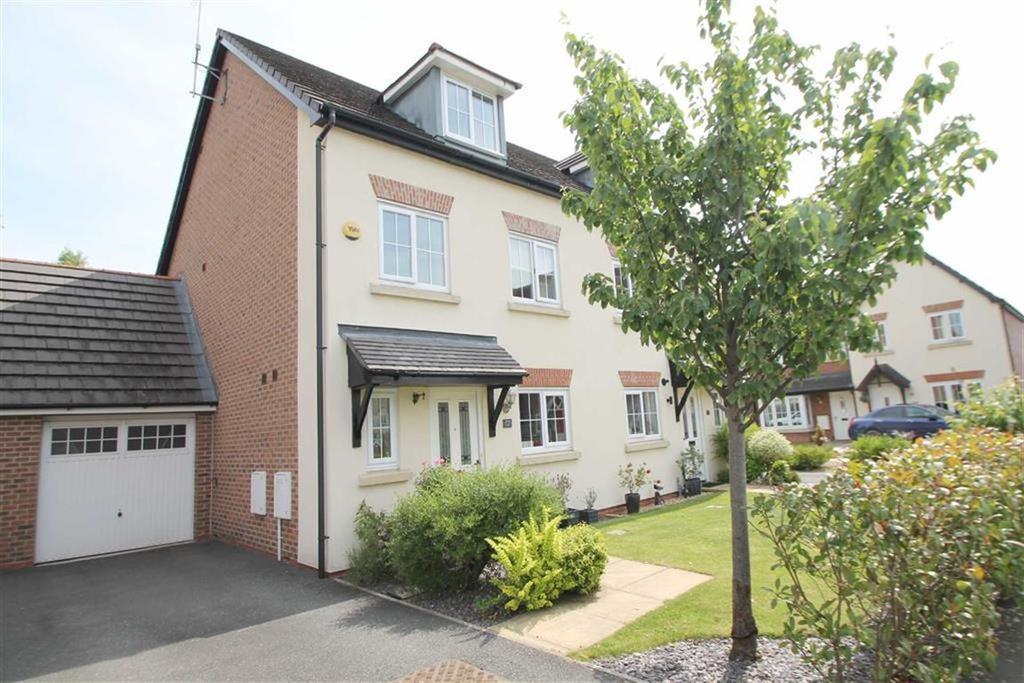 4 Bedrooms Semi Detached House for sale in Hardwick Drive, Gwersyllt, Wrexham