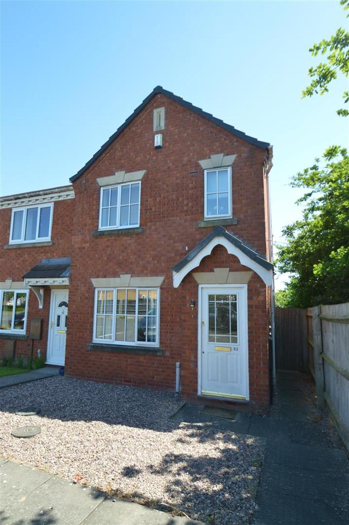 3 Bedrooms Terraced House for sale in 23 Everley Close, Bicton Heath, Shrewsbury, SY3 5PN