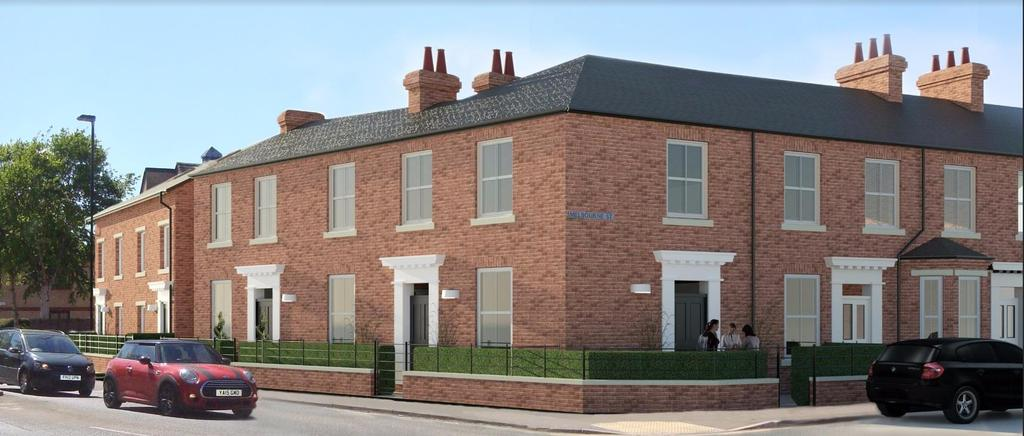 2 Bedrooms Apartment Flat for sale in Melbourne Street, Fishergate, York