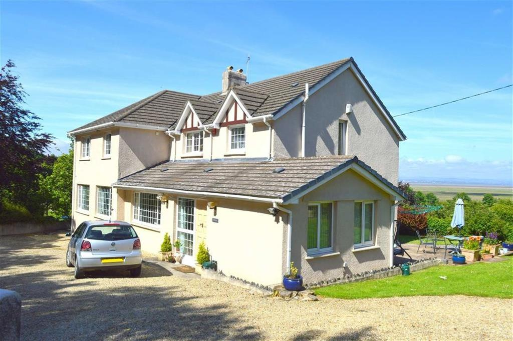 5 Bedrooms Detached House for sale in Landimore, Swansea