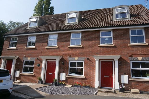 3 Bedrooms Terraced House for sale in Percival Way, Groby, Leicester, LE6