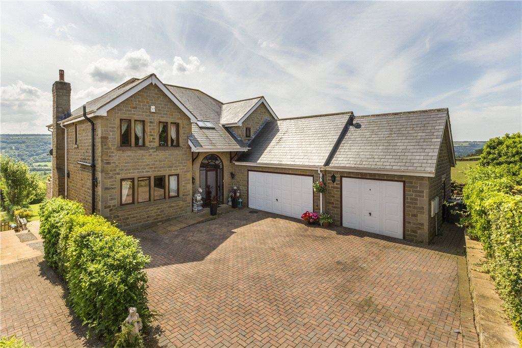 5 Bedrooms Detached House for sale in Highfield Close, East Morton, West Yorkshire