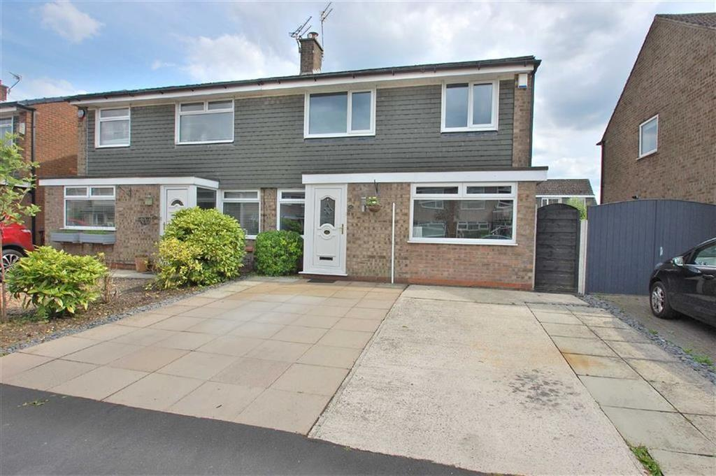 3 Bedrooms Semi Detached House for sale in Malmesbury Road, Cheadle Hulme, Cheshire