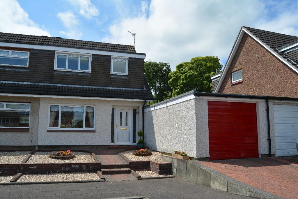 3 Bedrooms Semi Detached House for sale in Westerglen Road, Falkirk, Falkirk, FK1 5ND