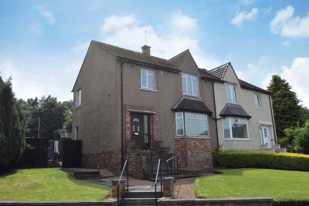 3 Bedrooms Semi Detached House for sale in Bantaskine Street, Falkirk, Falkirk, FK1 5EX