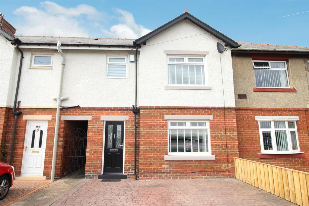 3 Bedrooms Terraced House for sale in Rydal Terrace, North Gosforth, Newcastle Upon Tyne