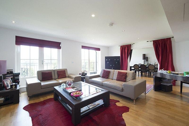 3 Bedrooms Flat for sale in Arcadian House, Imperial Crescent, London