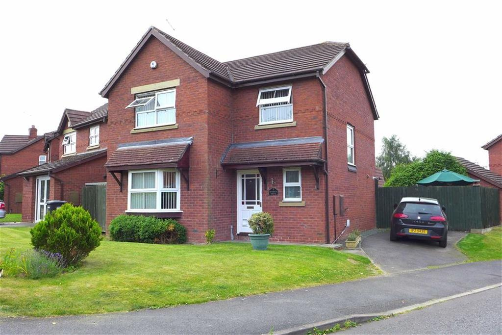 4 Bedrooms Detached House for sale in Riverside Grove, Crewe
