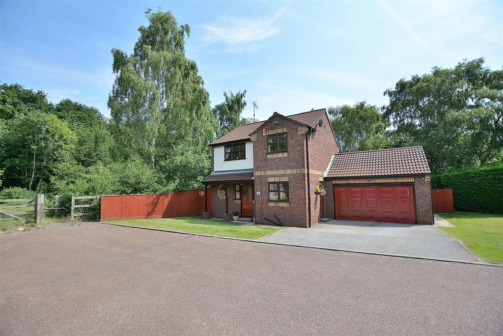 3 Bedrooms Detached House for sale in Goodwood Way, Mansfield