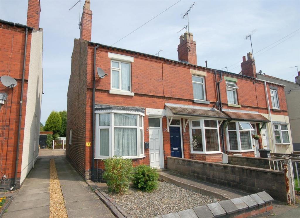 2 Bedrooms End Of Terrace House for sale in Talke Road, Alsager