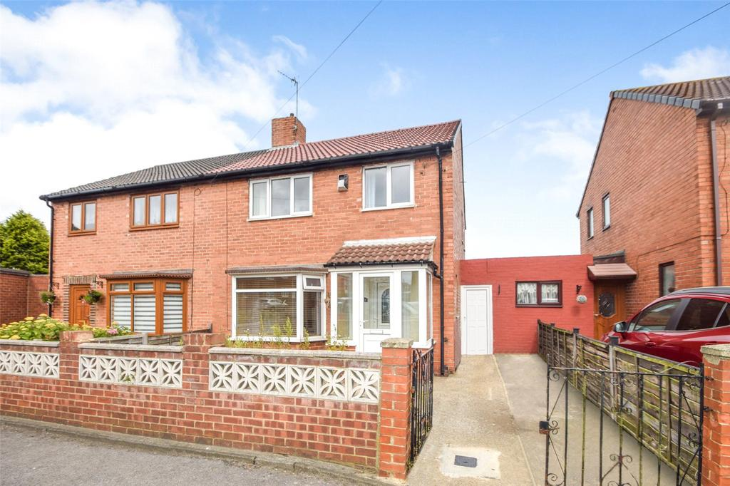 3 Bedrooms Semi Detached House for sale in Stephens Road, Murton, Seaham, Co. Durham, SR7