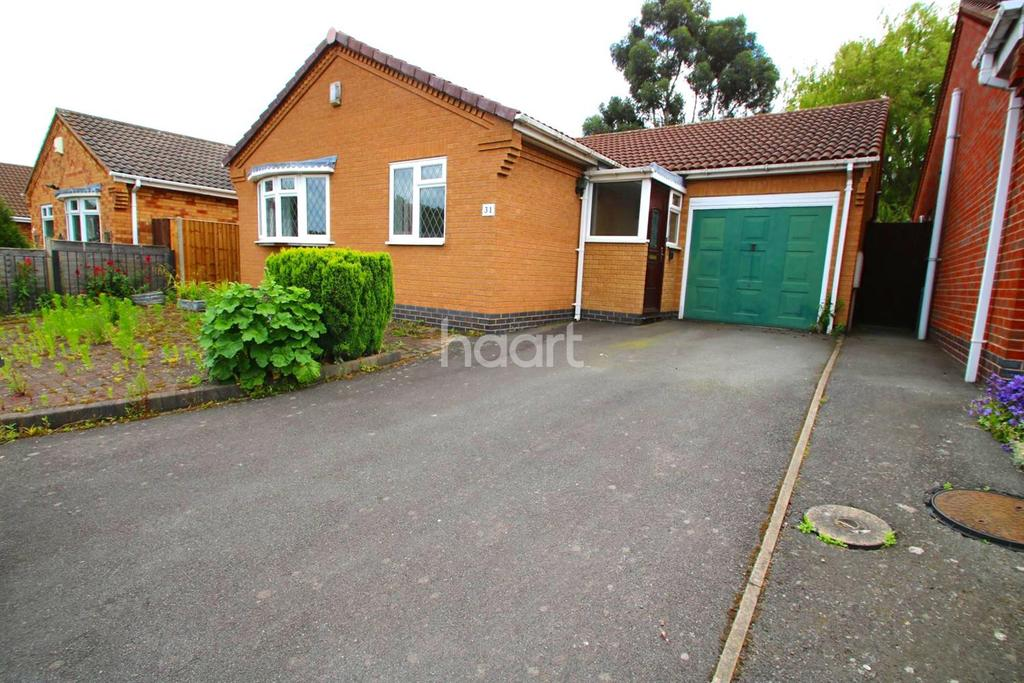 2 Bedrooms Bungalow for sale in Fontwell Drive, Glen Parva, Leicester