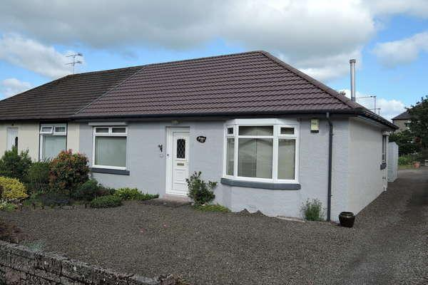 2 Bedrooms Semi Detached Bungalow for sale in 15 Cochrane Street, South Lanarkshire, Strathaven, ML10 6ND