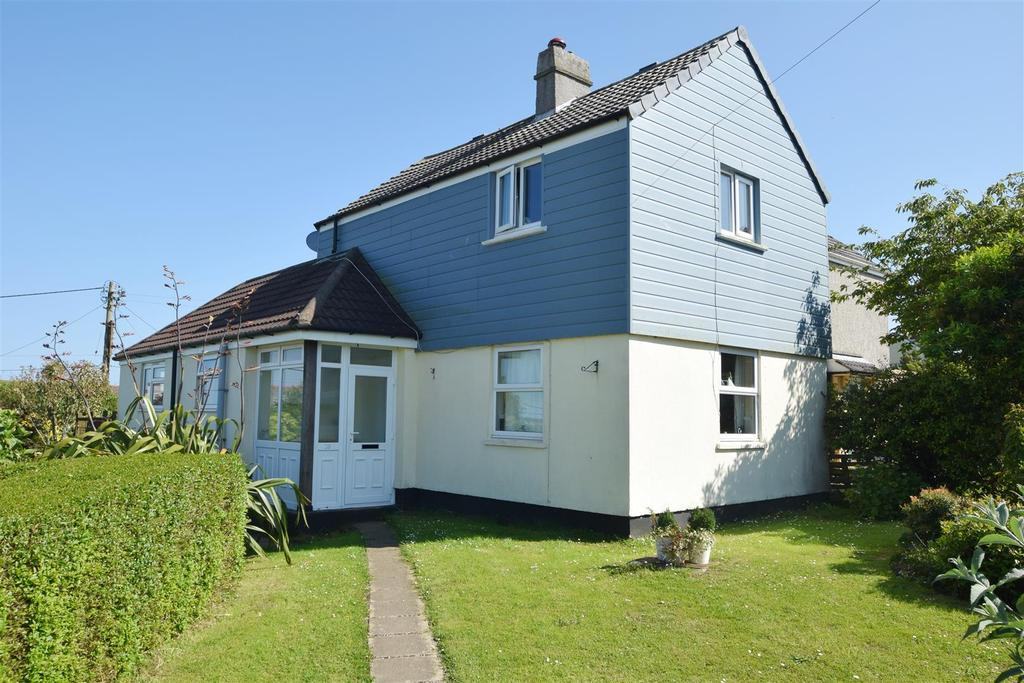 3 Bedrooms Semi Detached House for sale in Wheal Vyvyan, Constantine, Falmouth